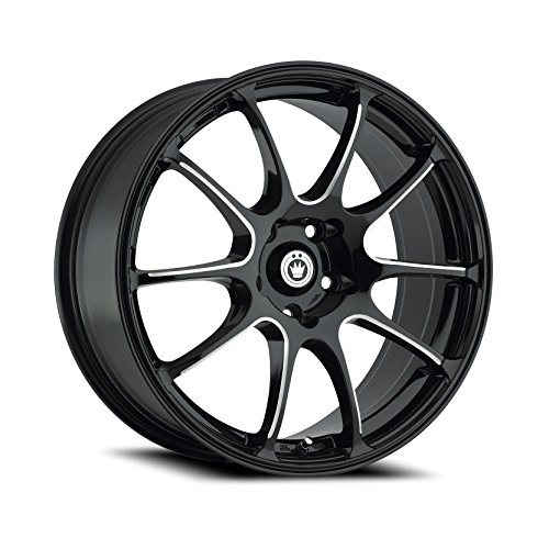 Konig Illusion Black Ball Cut Machined Wheel (18x8