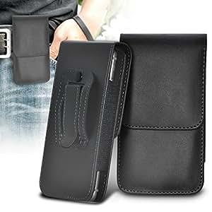 ONX3 Asus PadFone E Leather Slip Protective PU de cordón en la bolsa del lanzamiento rápido con Mini capacitivo Stylus Pen retráctil, 3.5mm en auriculares del oído, mini altavoz recargable cápsula (azul)