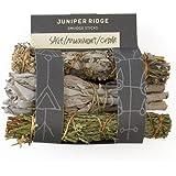 Juniper Ridge Smudge Sticks - Mini 3 Pack - Sage Mugwort Cedar - Variety Pack