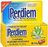 Perdiem Sennosides Stimulant Laxative Pills, Overnight Relief, 60-Count Bottle