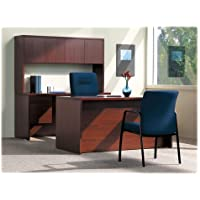 The HON COMPANY Stack-On Storage/Hutch, 60x14-5/8x37-1/8, Mahogany, Sold as 1 Each