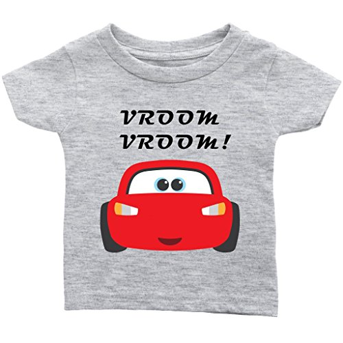 The Party Project Cars Baby t-Shirt | Infant Graphic tee | Lightning McQueen Baby Shirt! ()