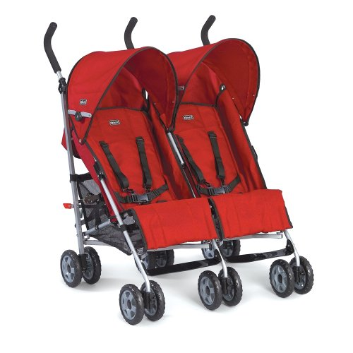 Amazon.com : Chicco Città Twin Stroller Red (Discontinued by ...