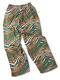 XS, Aqua / Orange Zebra Pant