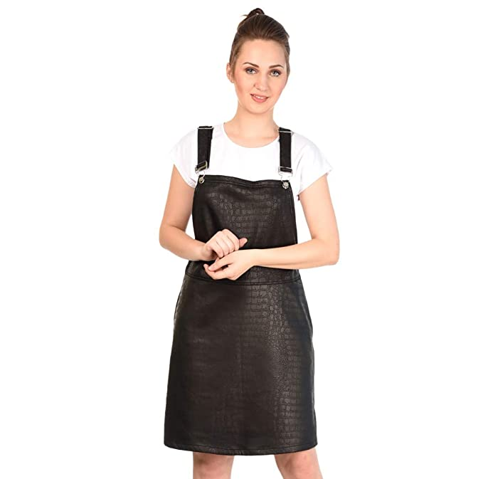 best sale classic best place 18 to Eighty's. Women's Geometric Stylish Dungaree Dress ...