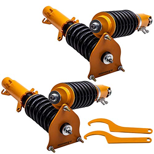 - Coilovers Damper Kit for Mini Cooper 2001-2006 Adj. Height Shock Absorbers