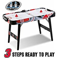 MD Sports 48 Inch Air Powered Foldable Legs Hockey Table