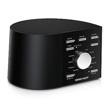 fbc24003b33 Sound+Sleep High Fidelity Sleep Sound Machine with Real Non-Looping Nature  Sounds,