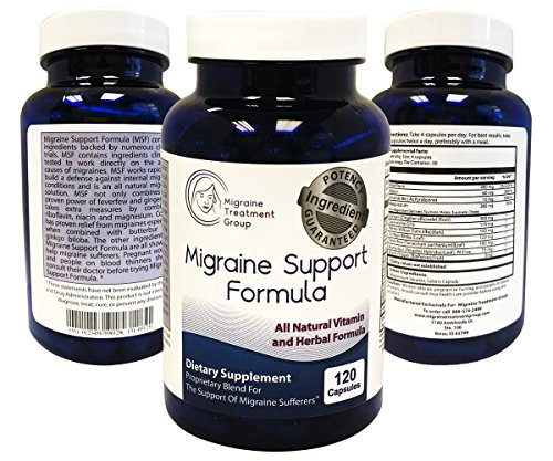 Migraine Treatment Group: Migraine Support Formula - 1 Month Supply (120 Capsules) ()