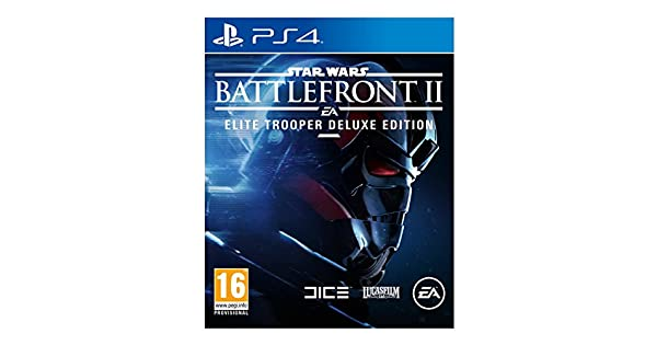 Sony Star Wars Battlefront II Elite Trooper Deluxe Edition PS4 De lujo PlayStation 4 vídeo - Juego (PlayStation 4, FPS (Disparos en primera persona), Modo multijugador): Amazon.es: Videojuegos