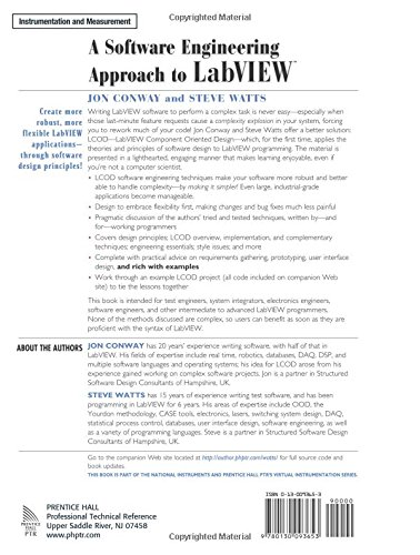 A Software Engineering Approach to LabVIEW by Prentice Hall