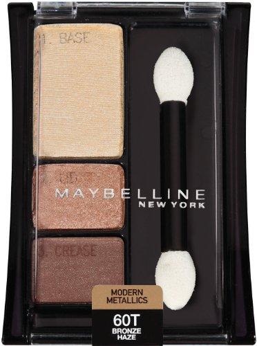 Haze Eye - Maybelline New York Expert Wear Eyeshadow Trios, Modern Metallics 60t Bronze Haze, 0.13 Ounce