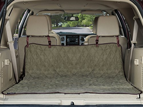 Solvit Deluxe Sta-Put SmartFit SUV Cargo Liner Cover - Green Color w/ Free eXtreme Dog Whistle Clicker (Deluxe Suv Cargo Liner)