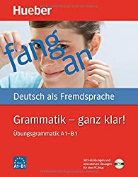 Hueber Dictionaries and Study-AIDS: Grammatik - Ganz Klar!