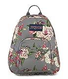 JanSport Half Pint Backpack Grey Bouquet