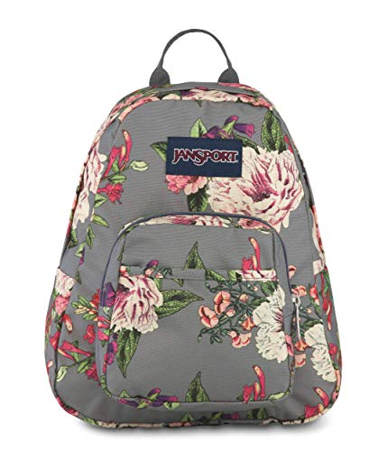 (JanSport Half Pint Backpack Grey Bouquet )