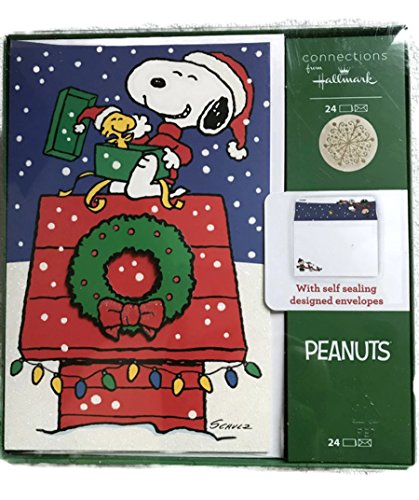 Lights Boxed Holiday Cards (Hallmark Holiday Boxed Cards (Snoopy House))