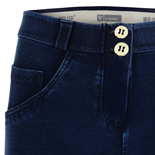 Wr Campana Pantalón Regular Talle De Denim Elástico En up® Freddy 5wgHxqOWIq