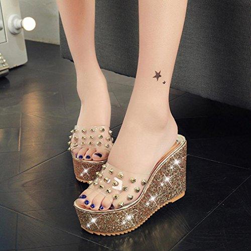 df8315e7ff1 Aurorax Women s Girls Wedge Sandals