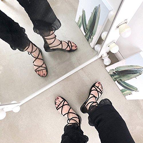 nbsp;sandals sandals shoes foot nbsp;shoes nbsp; fashion nbsp; students nbsp; ITTXTTI beige set simple sandals nbsp; wild Ms nbsp;strap nbsp; nbsp; 38 Roman summer wEfFqY
