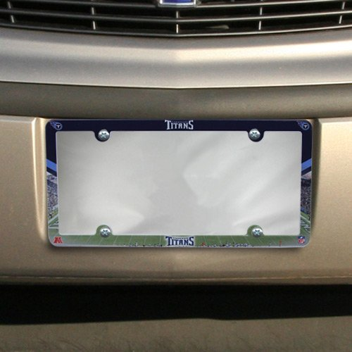 (Wincraft NFL Tennessee Titans Full Color License Plate Frame, Team Color, One Size)