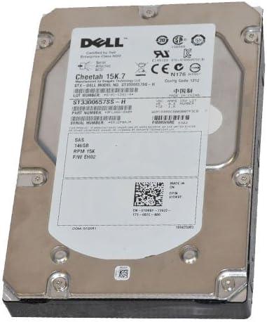 Seagate St3300657ss-H 146GB 15000Rpm 3.5インチ SAS HDD