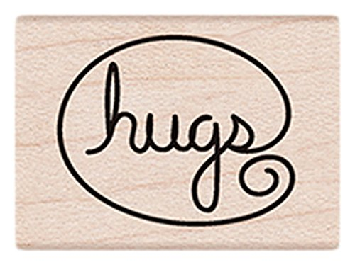 Hero Arts Stamp Box (Hero Arts A6193 Hugs Red Rubber Stamp)