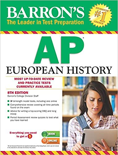 Amazon barrons ap european history 8th edition 9781438007397 barrons ap european history 8th edition 8th edition fandeluxe Choice Image