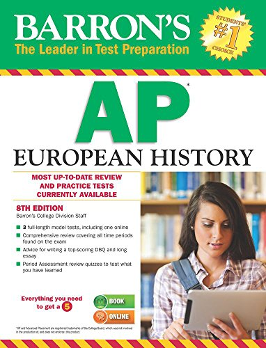 Barron's AP European History, 8th Edition