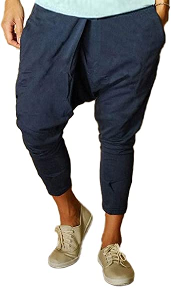 Mine Tom inetom Pantalon Pantalones Harem Pantalones De Los ...