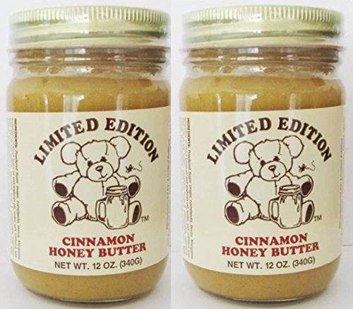 Cinnamon Honey Butter - 12 ounce (2 Pack) by Limited Edition