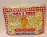 Inca's Food Maiz Cancha Para Totar (Dried Corn Cancha for Toasting) Single Bag 3lb - Product of Peru