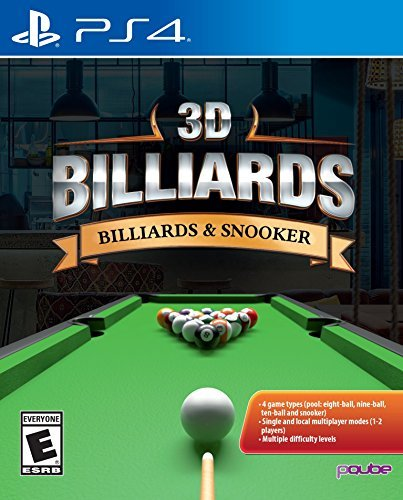 3D Billiards: Billards & Snooker - PlayStation 4