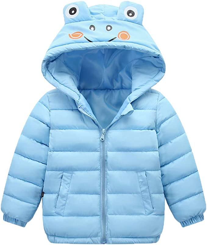 Baby Girls Boys Kids Jacket Coat Fall Winter Warm Children Tops Suits Clothes