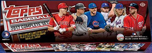 2017 Topps Complete Hobby Baseball Factory Set of 700 Cards (+5 Bonus Parallel (Topps Baseball Set)