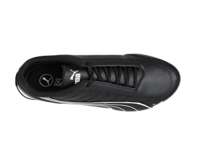 Puma Mens Ferrari SF Future Cat Kart Driving Athletic Shoes in Black ... 6a2ebb0cd