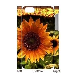 Sunflower CUSTOM 3D Phone Case for iPhone 4,4S LMc-11335 at LaiMc