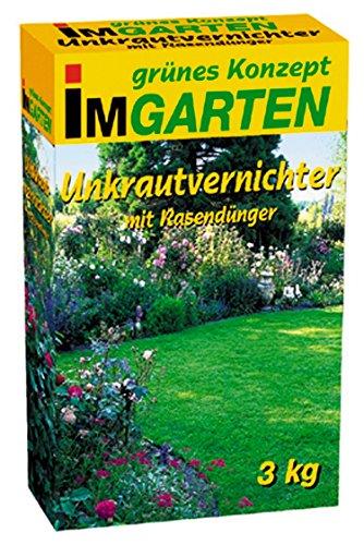 Beckmann im Garten 968803 Unkrautvernichter plus Rasendünger 3 kg