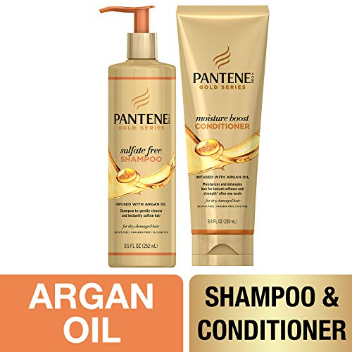 Pantene, Shampoo and Sulfate Free Conditioner Kit,...