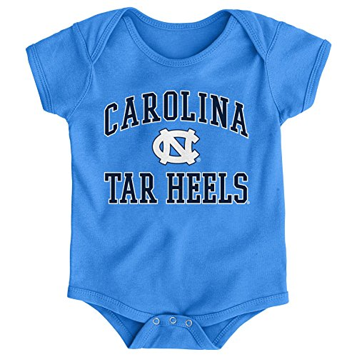 (Gen 2 NCAA North Carolina Tar Heels Newborn & Infant Primary Logo Bodysuit, 24 Months, Light Blue)