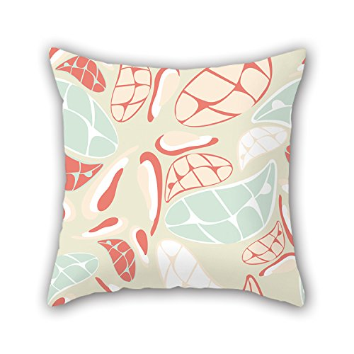 Uloveme Colorful Geometry Throw Valentine Day Pillow Covers 20 X 20 Inches (Team Aqua Theme Deck)