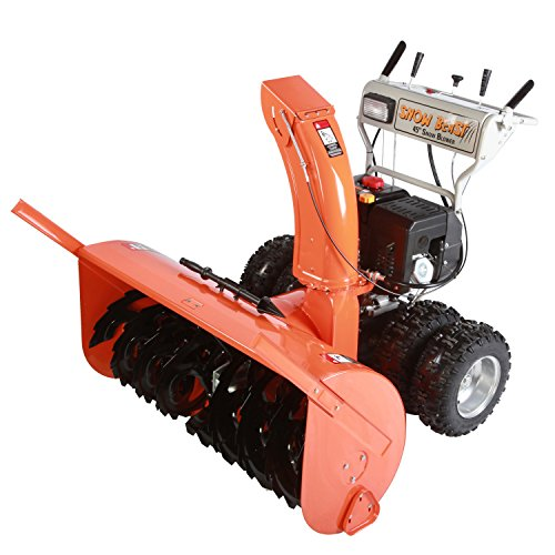 Snow Beast 45SBM15 45″ 420cc Electric Start 2-Stage Gas Snow Blower, Bonus Drift Cutters & Clean-Out Tool Top Offers