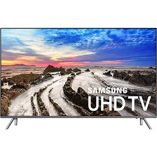 "Samsung UN65MU800DFXZA 4K Ultra HD Smart LED TV, Black, 65"" (Renewed)"