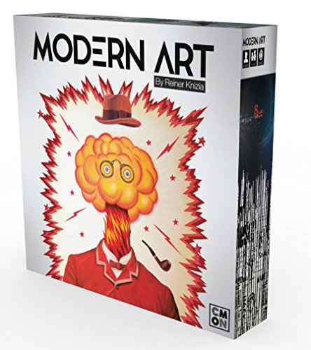 CMON Modern Art Abstract Board Game by CMON