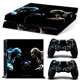 FriendlyTomato PS4 Console and DualShock 4 Controller Skin Set – Kombat Duel – PlayStation 4 Vinyl Mortal Fight