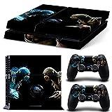 FriendlyTomato PS4 Console and DualShock 4 Controller Skin Set - Kombat Duel - PlayStation 4 Vinyl Mortal Fight