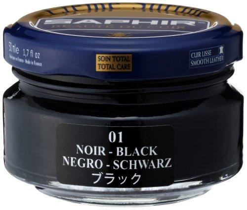 Saphir Shoe Cream 50ml Jar Black