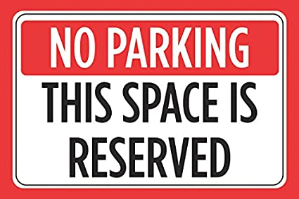 graphic about Printable No Parking Signs known as : No Parking This Location Is Reserved Print Purple