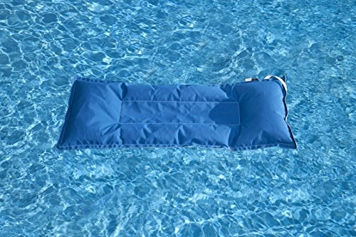 Floating Luxuries FL32501 Kai Infinity Pool Float, 28 by 70-Inch, Pacific Blue by Floating Luxuries (Image #2)