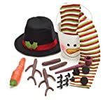 Complete Snowman Decorating Kit Lots Of Winter Snow Fun For Kids Or Kids At Heart